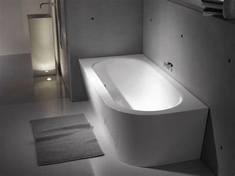 dänisches bette vasca da bagno asimmetrica in acciaio smaltato