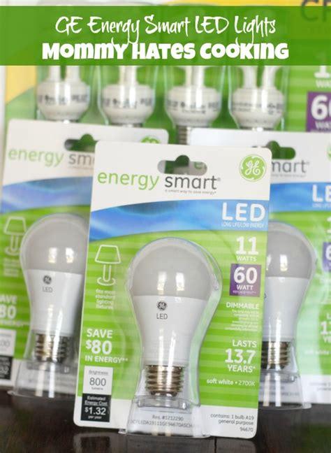 Savings With Ge Led Energy Smart Lights Mommy Hates Cooking Ge Energy Smart Led Light Bulbs