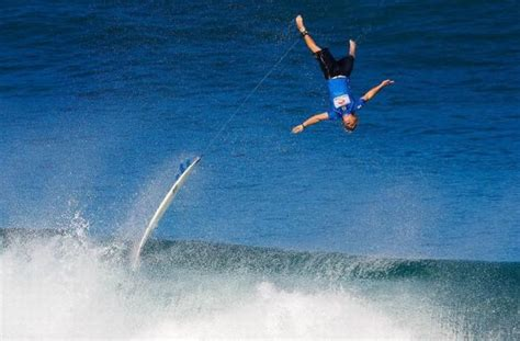 Surfing Dangers by Surfing Dangers Awesome Picture Of Surfer Flying A