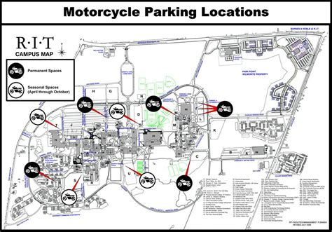 rit map motorcycles facilities parking