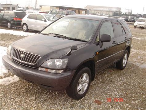 toyota harrier 2000 2000 toyota harrier pictures