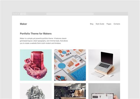 maker theme by theme patio introducing maker theme themepatio