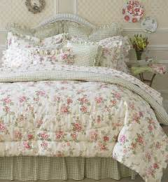 Country Style Valances Laura Ashley Yorkshire Rose 4 Piece Comforter Set Free