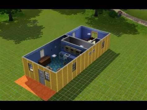 Graceland Floor Plan by Portable Building Plans For Cabin 32 X12 Youtube