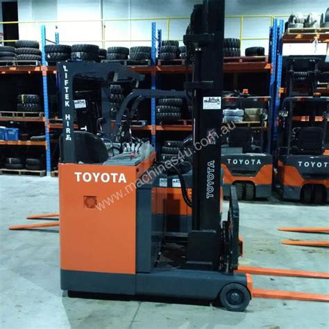 Toyota Raymond Used Toyota 6fbre16 Narrow Aisle Forklift In Griffith Nsw