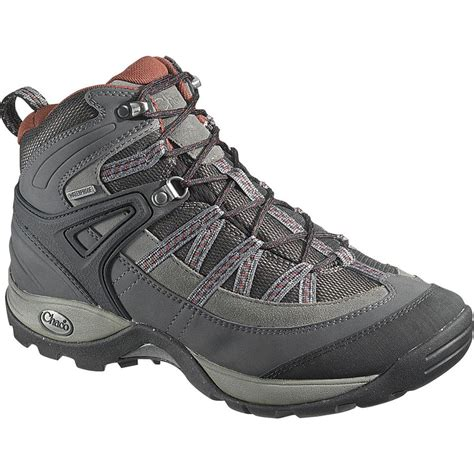 mens hiking boots waterproof chaco holbuck waterproof hiking boot s ebay