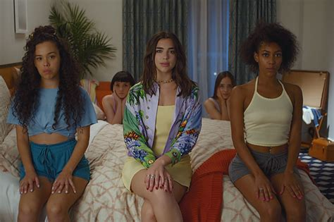 new rules dua lipa takes us behind the scenes of the new rules video