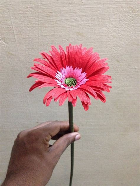 Ideas For Gerbera Flowers Gerbera Flower Simple Craft Ideas