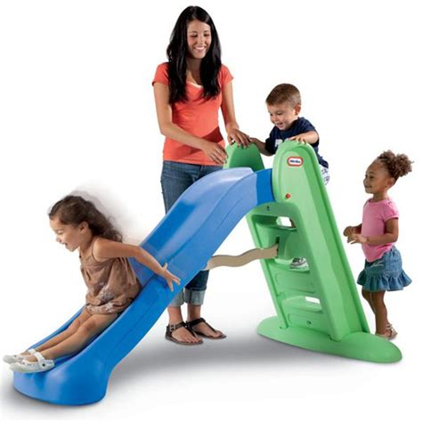 tike swing and slide tikes easy store large play slide best