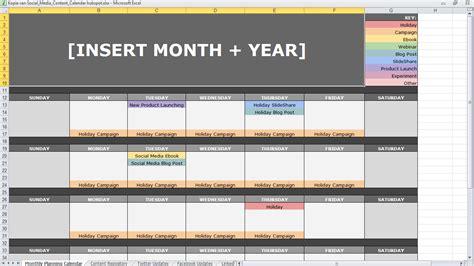 Gratis Content Kalenders Die Je Uren Werk Schelen Mldr Communicatie Content Calendar Template Hubspot