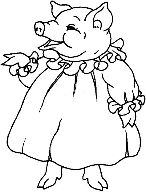 mama pig coloring page pig coloring pages coloringpages1001 com