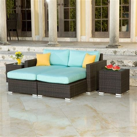 Outdoor Patio Daybed Source Outdoor Lucaya Outdoor Daybed Set Modern Outdoor Lounge Sets By Outdoor Living Showroom
