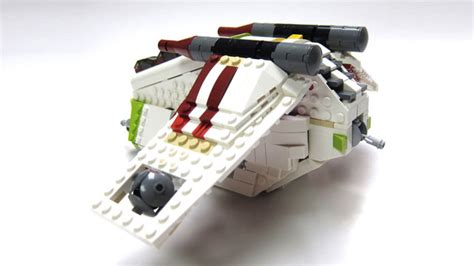 Brick Lego Hsanhe 6327 Figure Lego Cube Micro World Ser lego ideas midi scale republic gunship laat i