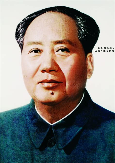 mao mao the mao zedong global warmingart and design inspiration from around