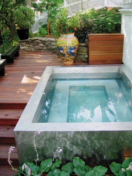 29 Small Plunge Pools To Suit Any Sized Backyard And Backyard Plunge Pool
