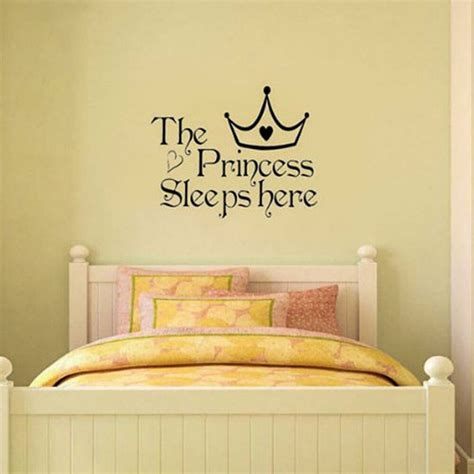 room wall decal great princess removable wall sticker bedroom decor baby room decal ebay