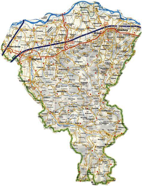 mappa pavia le mappe dell oltrepo pavese