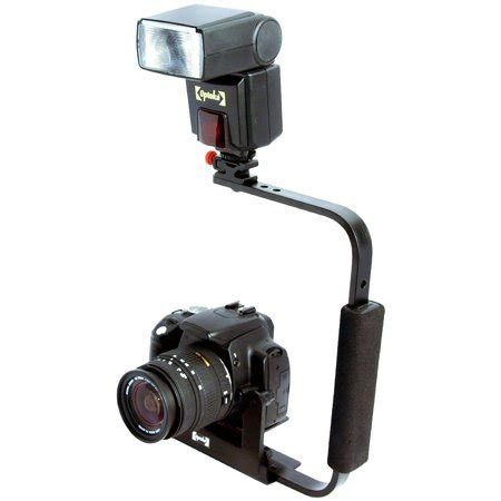 opteka fb 10 dslr external flip flash stand bracket