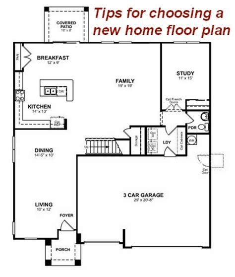 beazer home plans 4 tips for choosing a new home floor plan