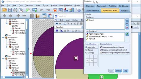 Zf2 Layout Variables In View | spss frequency tables bar chart pie chart multiple