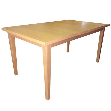 extendable kitchen table winslow modern beech 150cm to 180cm extendable dining