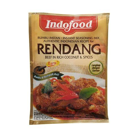 indofood bumbu rendang instant gr ub baitul makmur