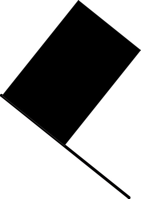 black flag free flag clip art black and white cliparts co