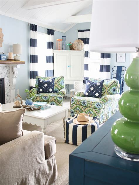 home design decor a splash at the lake with new nautical decor