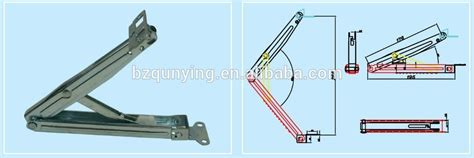 Hinged Drafting Table Support Metal Drafting Table Furniture Hinge View Metal Table Hinge Qunying Product Details From