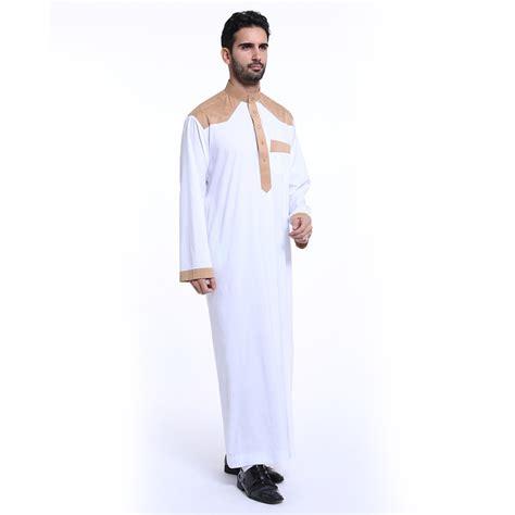 Abaya Arab Saudi White 2 mens saudi style white thobe jubba arab robe dishdasha