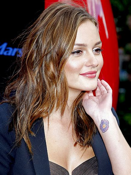 leighton meester tattoo with tattoos leighton meester