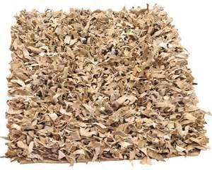 leder teppich lederteppich shag ivory 80x150 cm bei hornbach kaufen