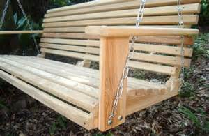 Handmade Porch Swings - 5 foot cypress handmade porch swing swings wood wooden ebay