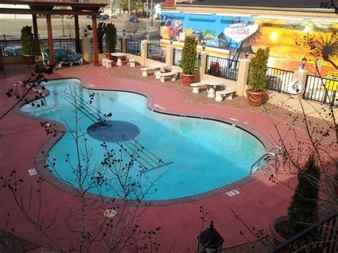 guitar shaped swimming pool guitar shaped pool picture of days inn memphis at
