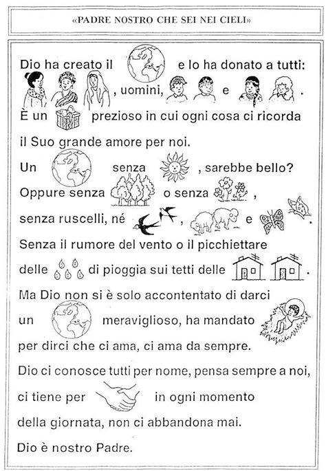 nel giardino degli angeli festa nel giardino degli angeli catechismo schede pagina 1