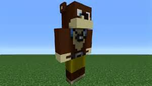 minecraft tutorial how to make an l for statue