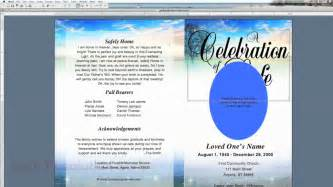 free funeral program template for microsoft word free funeral program template microsoft word