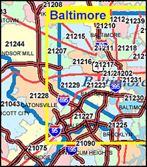 Md Search Codes Zip Code Map Baltimore Md Zip Code Map