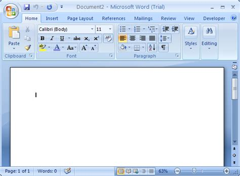 Microsoft Office Word 2007 Import Or Export Data Using Copy And Paste Word Office