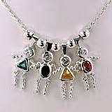 Birthstone babies jewelry boys girls necklaces bracelets and more