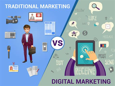 online advertising better than traditional advertising how digital marketing is more efficient than traditional