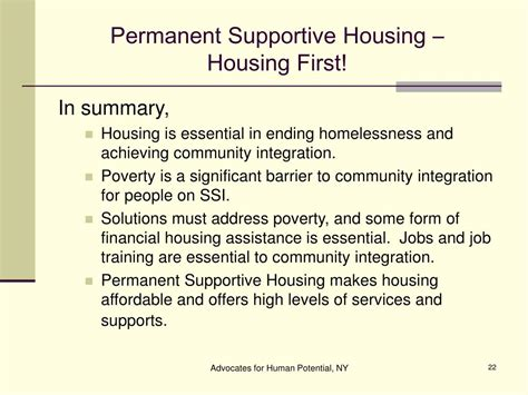 permanent supportive housing permanent supportive housing ppt permanent supportive housing housing powerpoint
