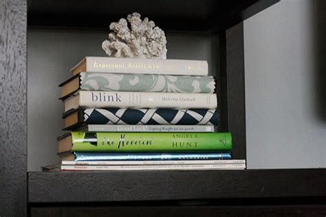 decorating with books i read ugly books a decorating hack view along the way