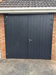 insulated side hinged garage door steel side hung vertical