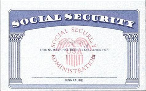 10 ssn template psd images social security card blank