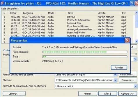 format cd musique nero convertir un cd de musique en mp3