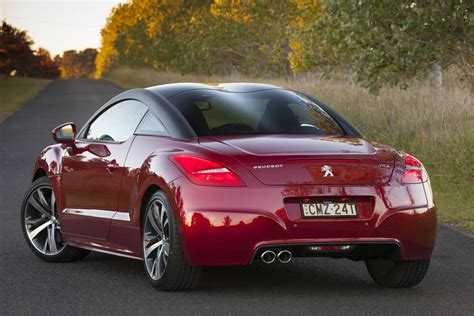 peugeot rcz price peugeot rcz revised french coupe lifts price and features