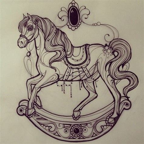 carousel horse tattoo 25 best ideas about carousel tattoos on