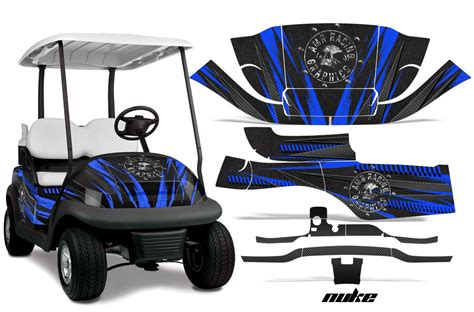 golf cart wrap template club car golf cart precedent i2 graphic kit 2008 2013