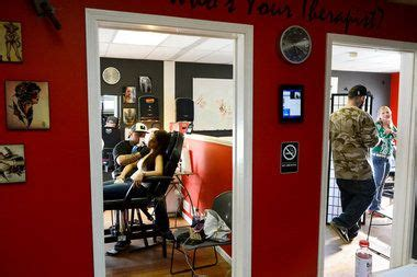 clean and sober tattoo shop ink therapy voted michigan s